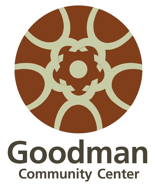 goodman logo. goodman community center logo