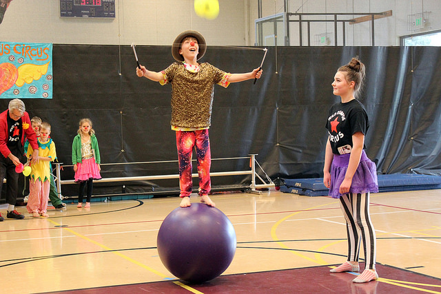 Circus After School in Mazo