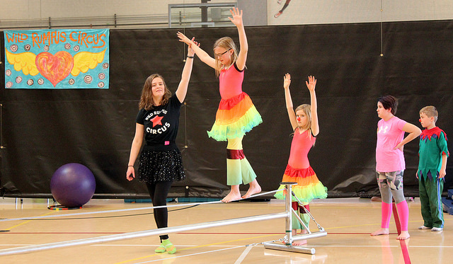 Aerial Arts for Homeschoolers