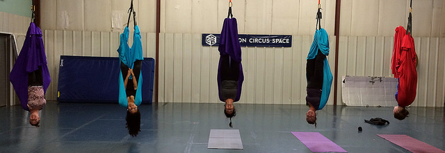 Introduction to Aerial Arts for Teens/Adults