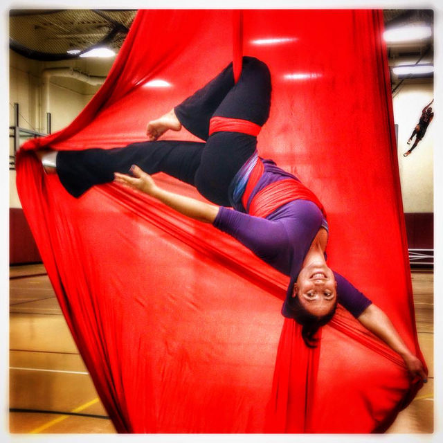 Tuesday Evening Aerial Yoga