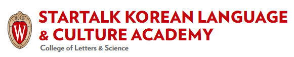 UW-Madison STARTALK Korean Language & Culture Academy