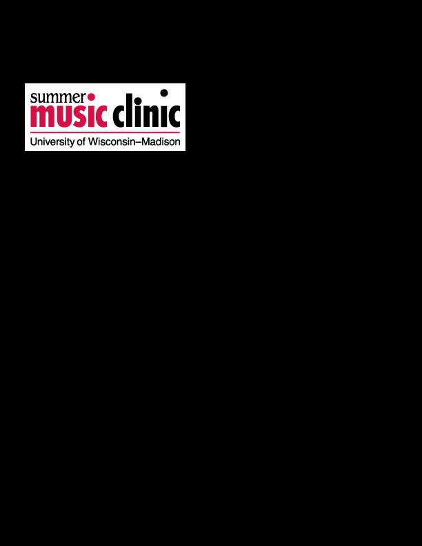 UW-Madison Summer Music Clinic