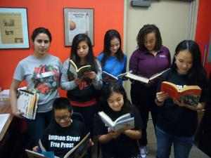 SSFP Students Reading Books